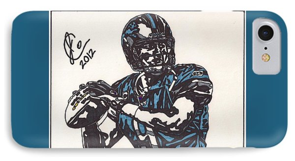 Matthew Stafford IPhone Case by Jeremiah Colley