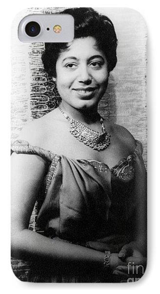 Mattiwilda Dobbs (1925- ) Phone Case by Granger