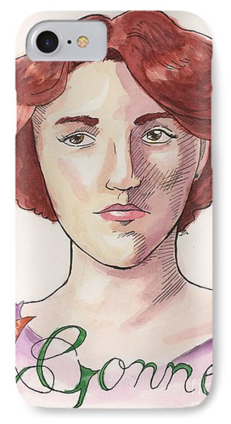 Maud Gonne IPhone Case by Whitney Morton