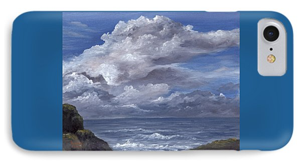 IPhone Case featuring the painting Maui Clouds by Darice Machel McGuire