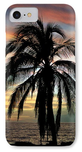 Maui Hawaii Sunset Palm Phone Case by Pierre Leclerc Photography