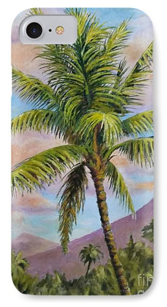 Maui Palm IPhone Case by William Reed
