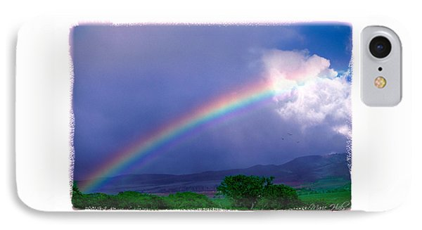 IPhone Case featuring the photograph Maui Rainbow by Marie Hicks