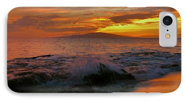 IPhone Case featuring the photograph Maui Sunset Reflections by Stephen  Vecchiotti