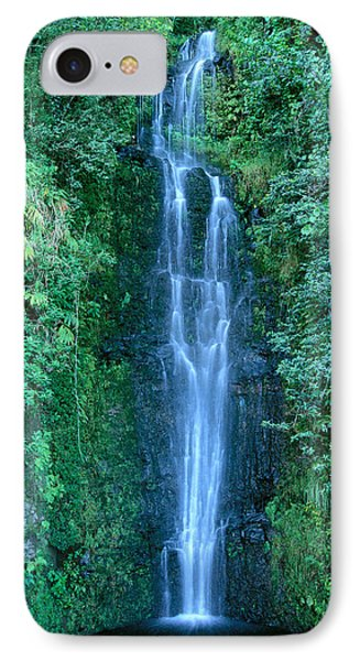 Maui Waterfall Phone Case by Bill Brennan - Printscapes