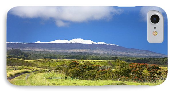 Mauna Kea Phone Case by Peter French - Printscapes