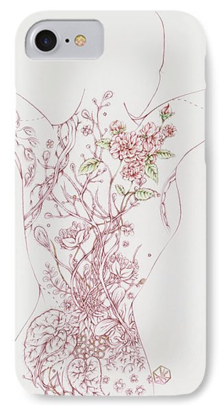 Maureen IPhone Case by Karen Robey