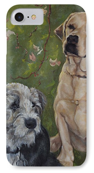 Max And Molly IPhone Case