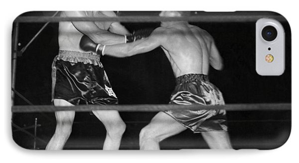 Max Baer And Lou Nova Boxing IPhone Case by Underwood Archives