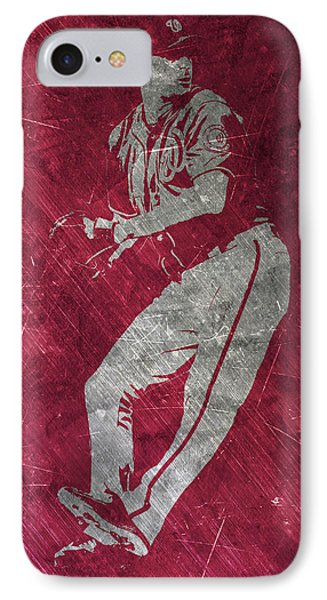 Max Scherzer Washington Nationals Art IPhone Case by Joe Hamilton