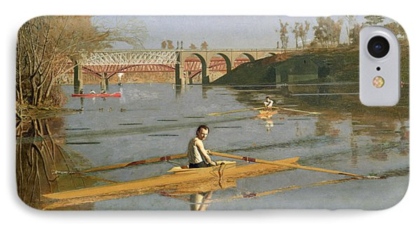 Max Schmitt In A Single Scull IPhone Case