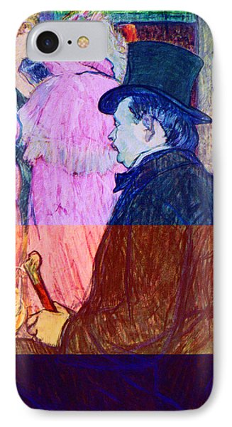 Maxime Dethomas On The Opera Ball IPhone Case by Toulouse Lautrec