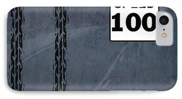 Maximum Speed 100 IPhone Case