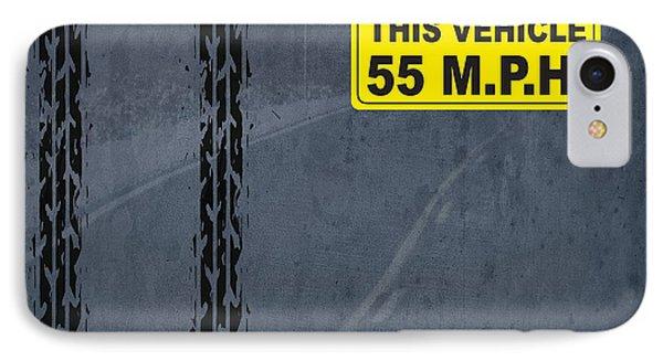 Maximum Speed 55 Mph IPhone Case