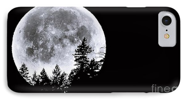 May 4 Moon Set IPhone Case by Julia Hassett