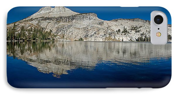 May Lake Panorama IPhone Case by Greg Nyquist