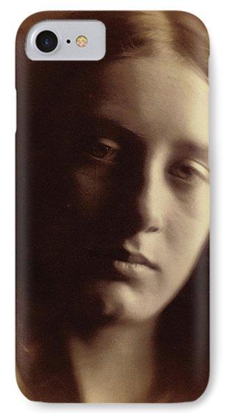 May Prinsep As St John IPhone Case by Julia Margaret Cameron
