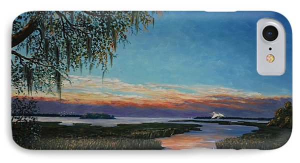 May River Sunset Phone Case by Stanton Allaben
