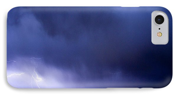 May Showers 3 In Color - Lightning Thunderstorm 5-10-2011 Boulde Phone Case by James BO  Insogna