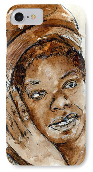 Maya IPhone Case by Howard Barry