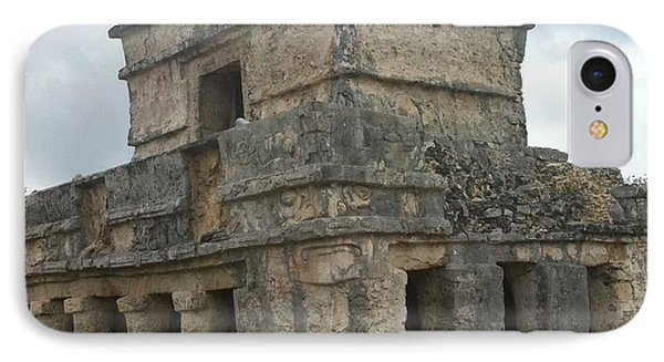 Mayan Stone Homes  IPhone Case