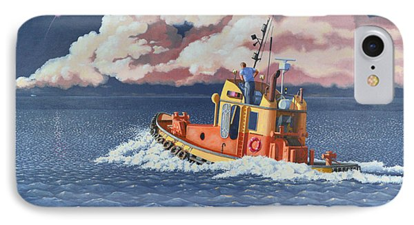 Mayday- I Require A Tug Phone Case by Gary Giacomelli