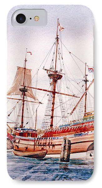 Mayflower II  IPhone Case by P Anthony Visco