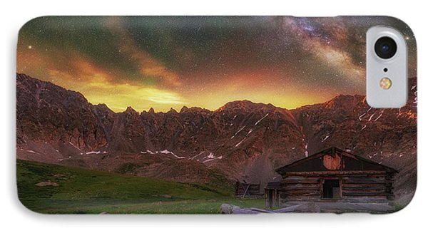 IPhone Case featuring the photograph Mayflower Milky Way by Darren White