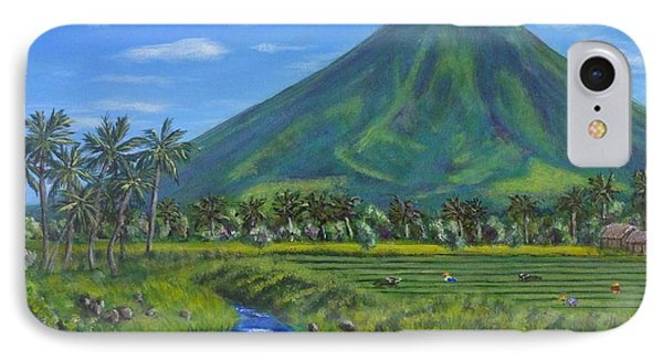 Mayon Volcano IPhone Case