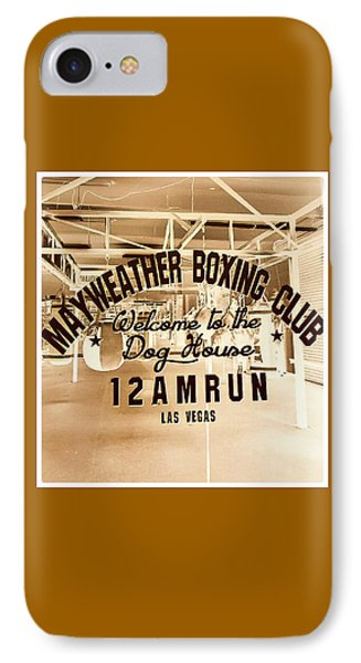 Mayweather Boxing Club IPhone Case