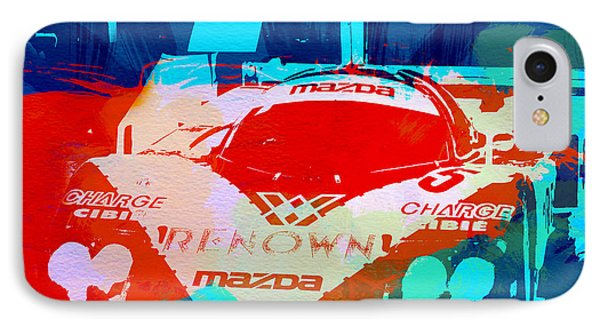 Mazda Le Mans IPhone Case by Naxart Studio