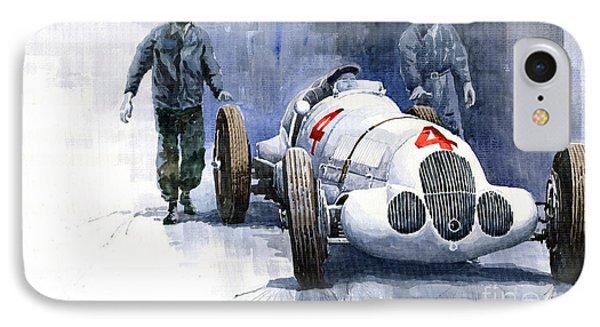 Mb W125 Gpcar 1937 IPhone Case by Yuriy  Shevchuk