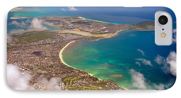 IPhone Case featuring the photograph Mcbh Aerial View by Dan McManus