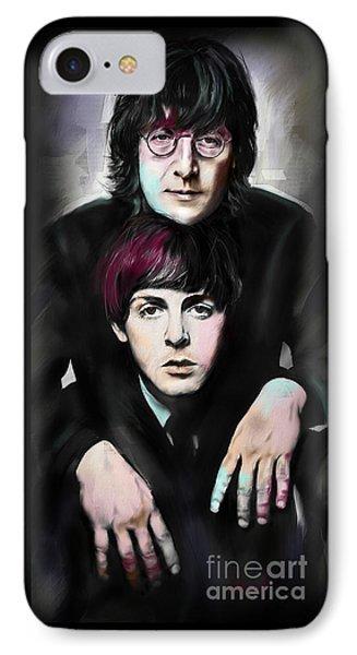 Mccartney And Lennon IPhone Case