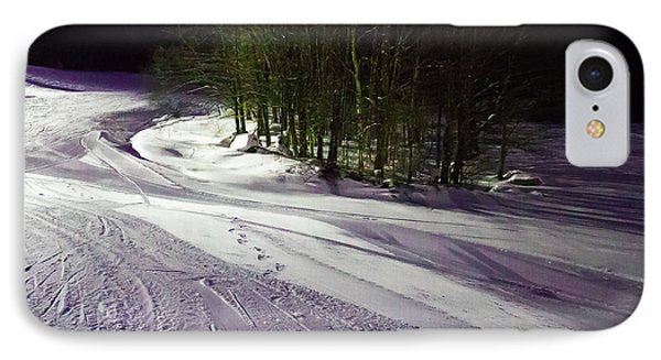 IPhone 7 Case featuring the photograph Mccauley Evening Snowscape by David Patterson