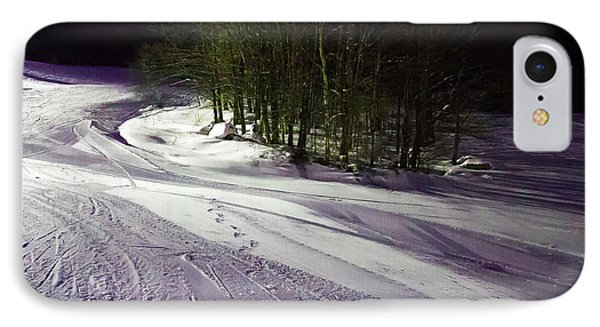 IPhone Case featuring the photograph Mccauley Evening Snowscape by David Patterson