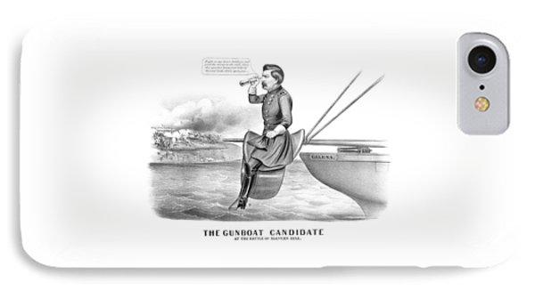 Mcclellan The Gunboat Candidate IPhone Case