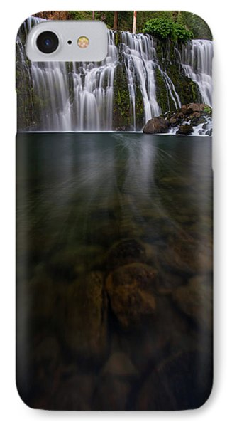 IPhone Case featuring the photograph Mccloud Falls by Dustin LeFevre