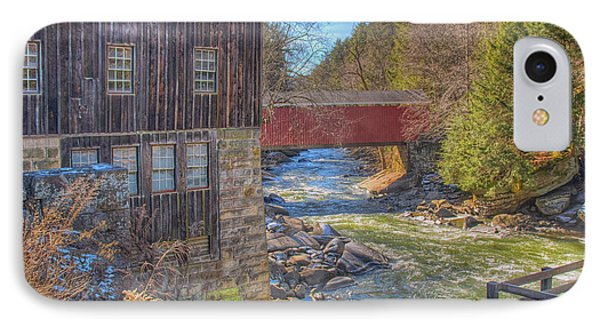 Mcconnells Mill Winter  IPhone Case
