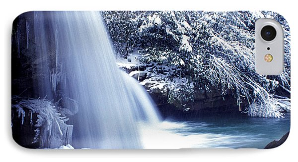 Mccoy Falls In January Phone Case by Thomas R Fletcher