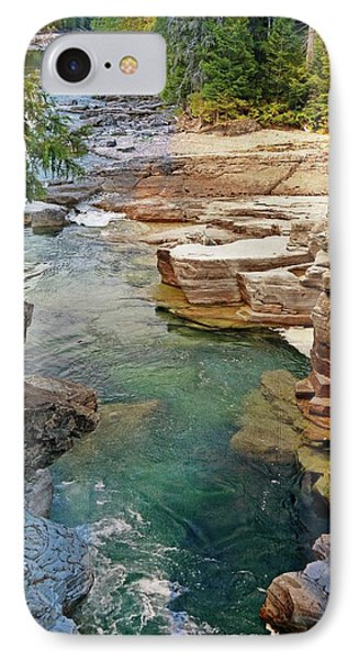Mcdonald Creek 6 IPhone Case by Marty Koch