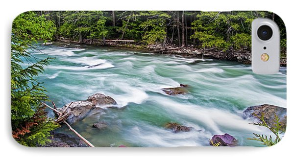 IPhone Case featuring the photograph Mcdonald Creek by Gary Lengyel