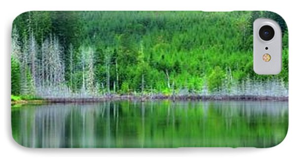 Mcguire Reservoir P IPhone Case by Jerry Sodorff