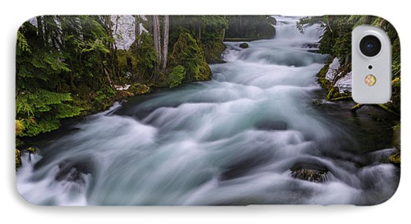 IPhone Case featuring the photograph Mckenzie River by Cat Connor