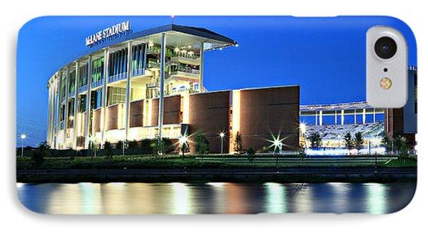 Mclane Stadium Panoramic IPhone Case by Stephen Stookey