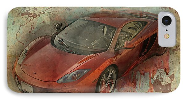 IPhone Case featuring the photograph Mclaren Graffiti by Joel Witmeyer