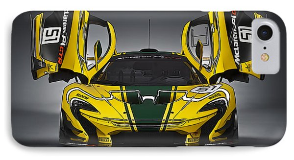 Mclaren P1 Gtr IPhone Case by Thomas M Pikolin