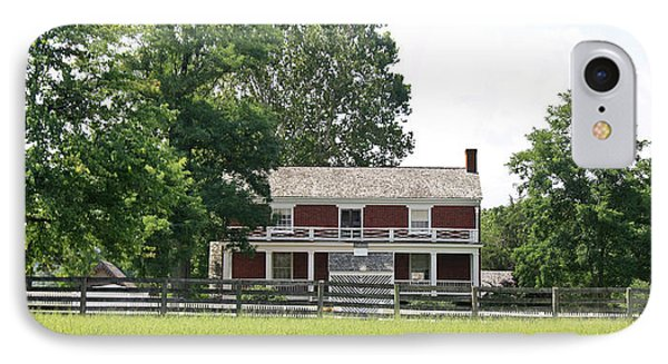 Mclean House Appomattox Court House Virginia IPhone Case by Teresa Mucha