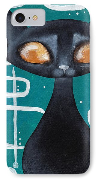 Mcm Cat IPhone Case by Abril Andrade Griffith