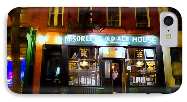 Mcsorleys At Night IPhone Case